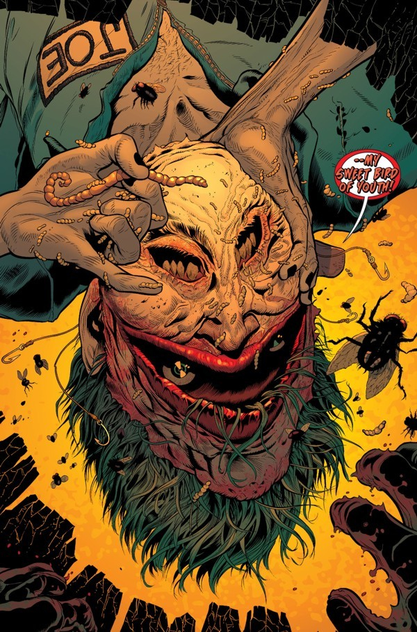 Batman - Death of the family, recensione - Storie Da Birreria Joker Face Upside Down